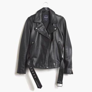 Madewell ultimate leather Moto jacket xxs